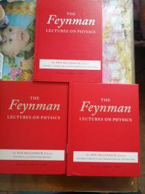 The feynman lectures on physics   费曼物理学讲义  新千年版  英文版  近全新  低价出