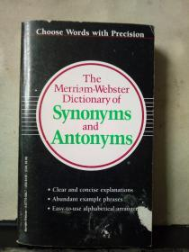 TheMerriam-WebsterDictionary of Synonyms andAntonyms(英文原版)
