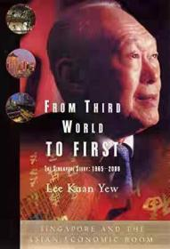 正版 英文书 From Third World to First Lee Kuan Yew 平装版