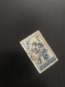 老纪特邮票 广东龙头戳?龙x