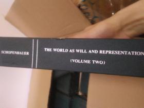西方基本经典  叔本华  作为意志与表象的世界  第二卷the world  as will and representation