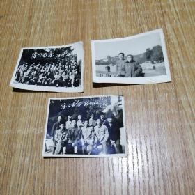 文革老照片一组3张。