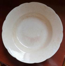 外销(欧洲皇室)瓷盘一个