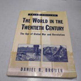 英文原版 The World in the Twentieth Century 二十世纪的世界