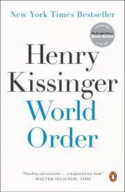 英文原版 世界秩序 基辛格 World Order Henry Kissinger