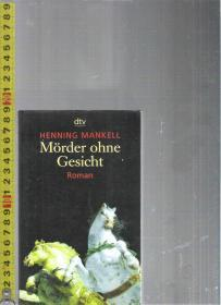 【优惠特价】原版德语小说 Mörder ohne Gesicht / Henning Mankell【店里有许多日耳曼语族的原版小说欢迎选购】