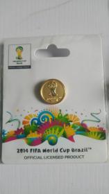 FIFA官方授权产品 2014巴西世界杯logo系列徽章B