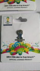 FIFA官方授权产品 2014巴西世界杯logo系列徽章C