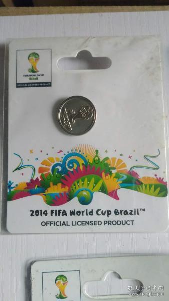 FIFA官方授权产品 2014巴西世界杯logo系列徽章D