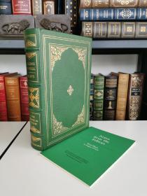 four plays of eugene O'Neill  《尤金•奥尼尔戏剧四种》  franklin library 1978年出版 真皮精装限量 收藏版 世界100伟大名著系列丛书  带 editor note