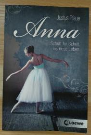 德文原版书 Anna: Schritt für Schritt ins neue Leben (Deutsch) Taschenbuch – 9. Oktober 2012 von Justus Pfaue  (Autor)