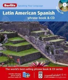 Berlitz Latin American Spanish Phrase Book & Cd