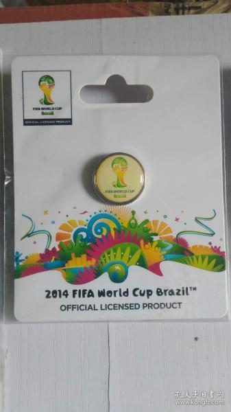 FIFA官方授权产品 2014巴西世界杯logo系列徽章E
