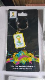FIFA官方授权产品 2014巴西世界杯logo系列钥匙扣C