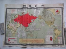 世界形势 民兵军事训练挂图之一(双面图)