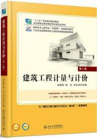 建筑工程计量与计价 第三版 肖明和 简红关永冰 北京大学