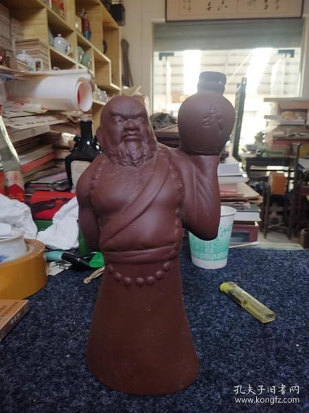 80年代:水浒人物酒瓶:花和尚鲁智深