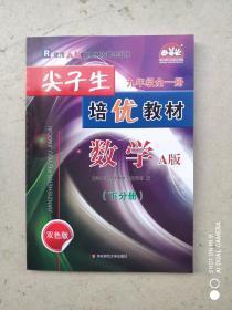 二手正版 学习加油站 尖子生 九年级全一册 培优教材 数学A版 下分册 双色版 9787567577602