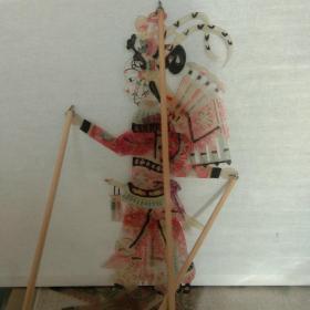 皮影——杨门女将彩色
