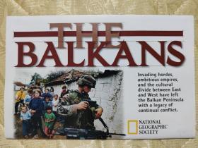 National Geographic国家地理杂志地图系列之2000年2月 The Balkans 巴尔干半岛地图