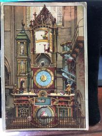 法国十八世纪立体影幻转动卡片