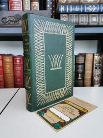 Leaves of Grass 惠特曼诗集 《草叶集》 easton press 1977年真皮 精装版 Rockwell kent 的经典配图 带有一枚全新藏书票
