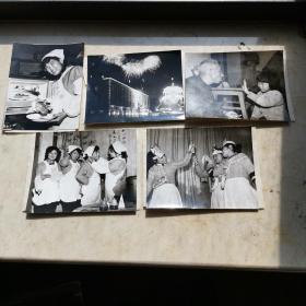 八十年代老照片五张(生活照)