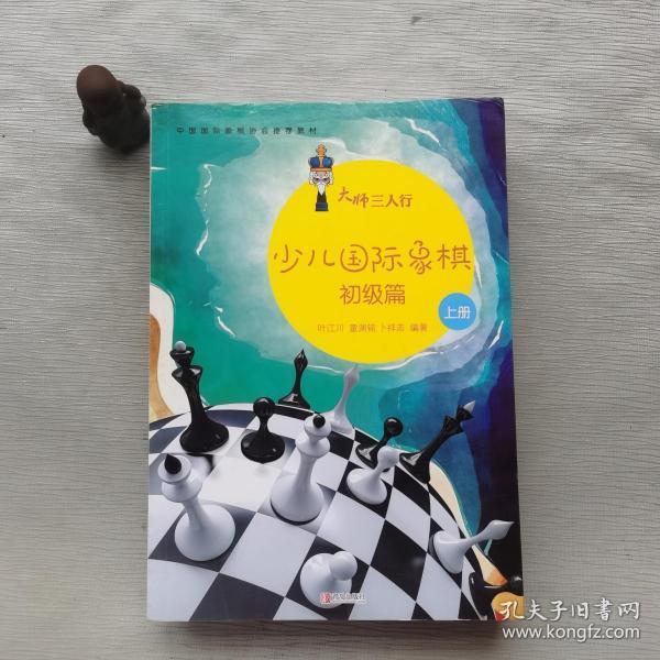 大师三人行:少儿国际象棋初级篇(套装上下册)