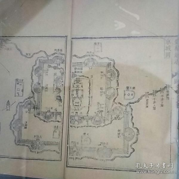 京师图(康熙、雍正)