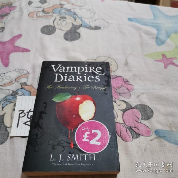 The Awakening & The Struggle (The Vampire Diaries, Volume 1)[吸血鬼日记:觉醒和挣扎]