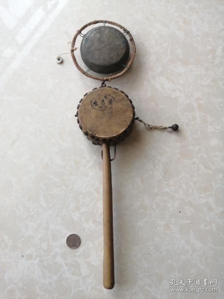 民清时期北京德昌永字号出的货郎用拨浪鼓