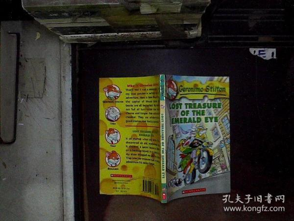 Geronimo Stilton #1: Lost Treasure of the Emerald Eye  老鼠记者系列#01:遗失的宝藏 英文原版