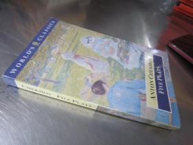 Anton Chekhov Five Plays【36开 英文原版】(契诃夫五部戏剧)