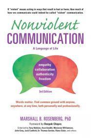 英文原版书籍 非暴力沟通 Nonviolent Communication Marshall B. Rosenberg