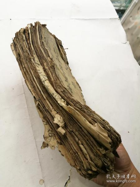 木刻字大如钱,经折装经文一大捆