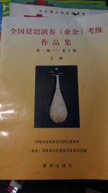 全国琵琶演奏【业余】考级作品集下册