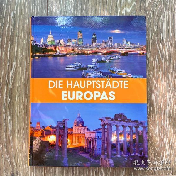 德文原版 欧洲的首都(大16开精装)