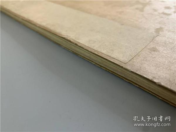 古代日本围棋棋局棋谱双色抄本1册,宝历丙子(1756年乾隆年间)序