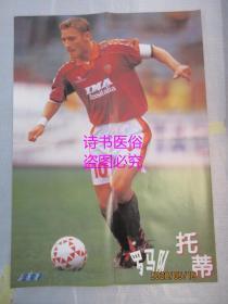 足球明星海报:齐达内-托蒂