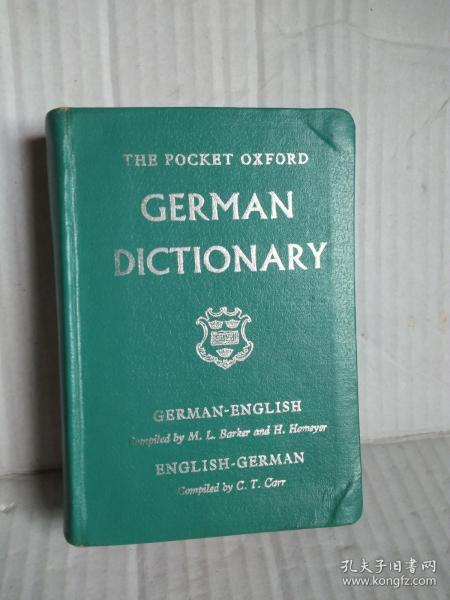 The Pocket Oxford German Dictionary