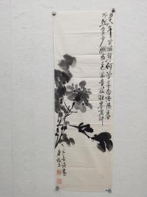 李庚 花鸟  徐渭笔意