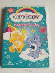 英文原版DVD:Care Bears - Season of Caring【光盘经测试在电脑光驱可以正常播放】