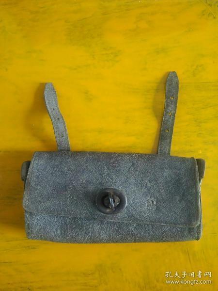 皮制飞鸽自行车工具包 +  4件工具