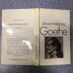 JOHANN WOLFGANG GOETHE.