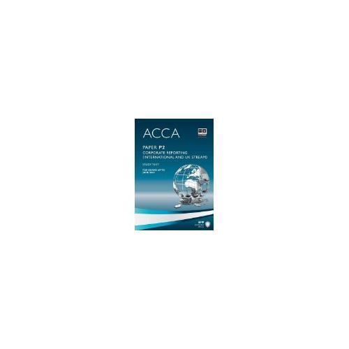 ACCA P2 Corporate Reporting  (Study Text) 英文版公司报告 教科书