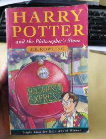 Harry Potter and the Philosopher's Stone(包正版)