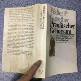 Walter P.Guenther     Preußischer Gehorsam