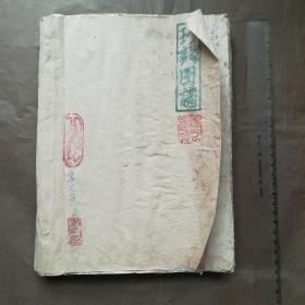 珍龙图谱心语杂抄等一厚册
