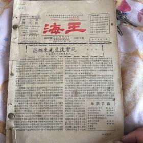 海王 旬刊(一本)