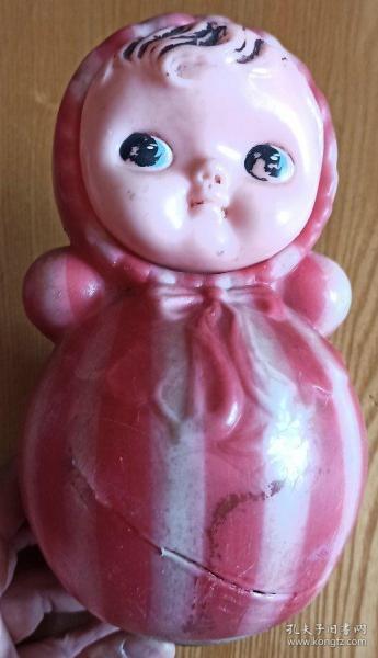 不倒翁娃娃老玩具